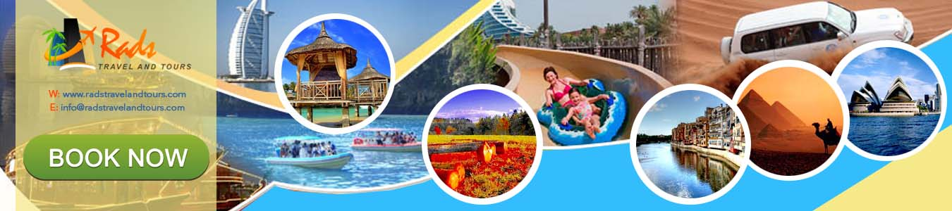 Rads Travel and Tours - BOOK NOW!